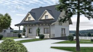 Bilczyce - dom z werandą 1
