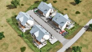 Tenczynek osiedle czterech domów