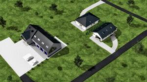 Liszki - warsztat samochodowy z częścią socjalno-biurową i dwa budynki mieszkalne