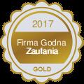 Medal firma godna zaufania 2019